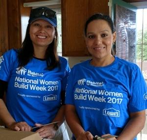 Women Build Volunteer 2017