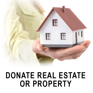 Donate Real Estate or Property logo