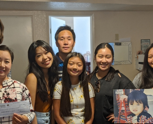 Saesee family pays off Habitat mortgage