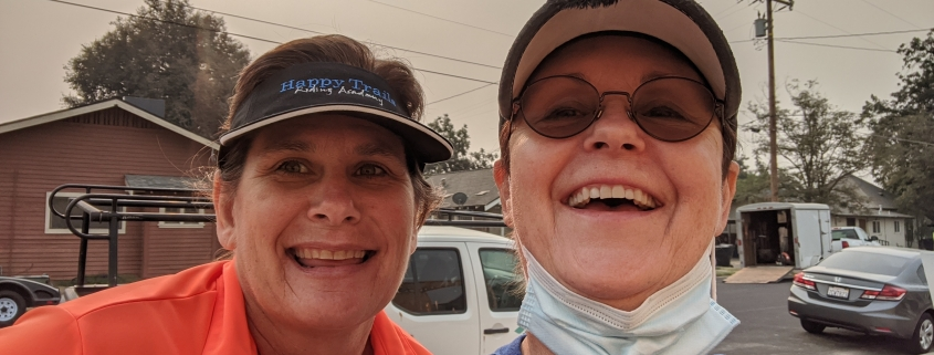 Happy Trails joins Habitat on the jobsite in Hanford