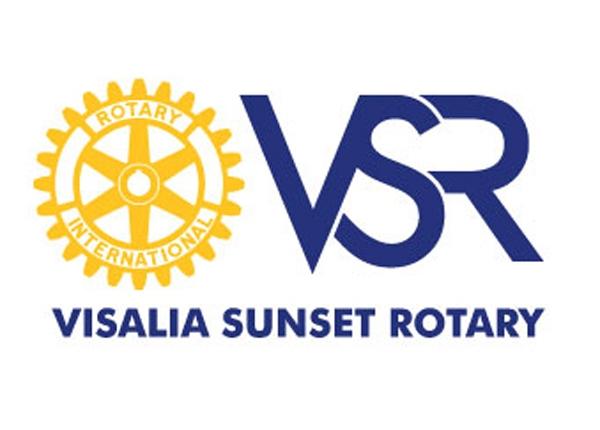 Visalia Sunset Rotary logo