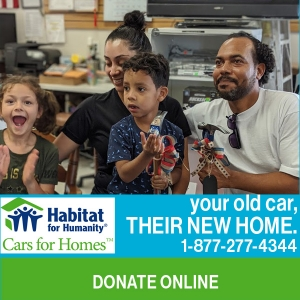 Cars for Homes -donate online button