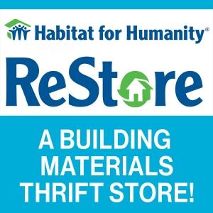 Habitat ReStore logo button