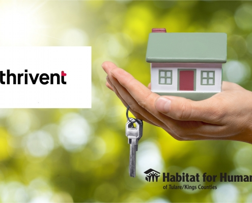 Thrivent supports Habitat homeowners