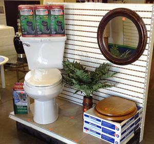 ReStore bathroom display